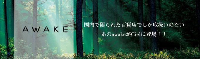awakeがcielに登場!!